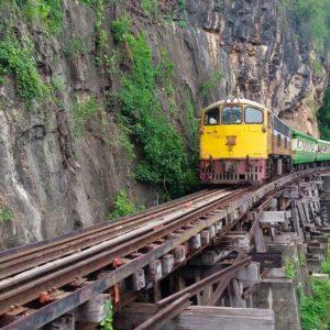 Kanchanaburi highlights Bridge over the river Kwai tour