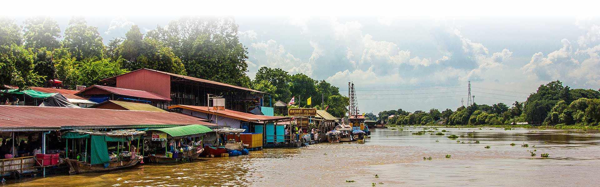 Ayutthaya tour river ride