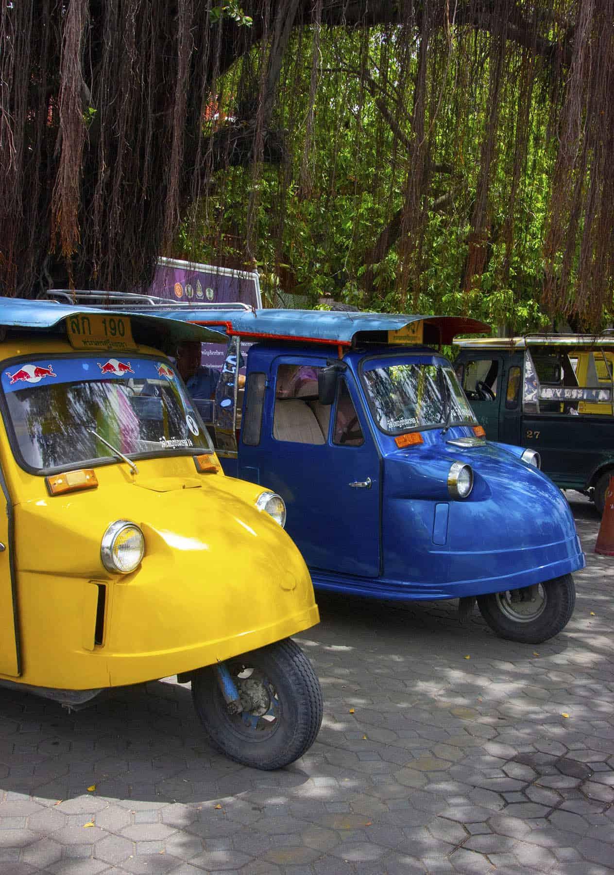 Tuk tuk in Ayutthaya